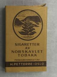 Sigarettetui med 1 sigarett