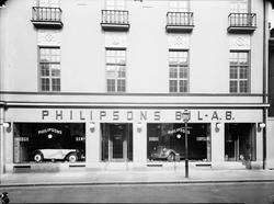 Philipsons Bil AB Dodge; D.K.W; Chrysler  9 juli 1938