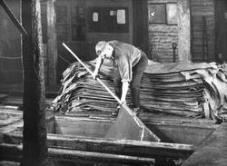 Läderfabrik i Gävle.