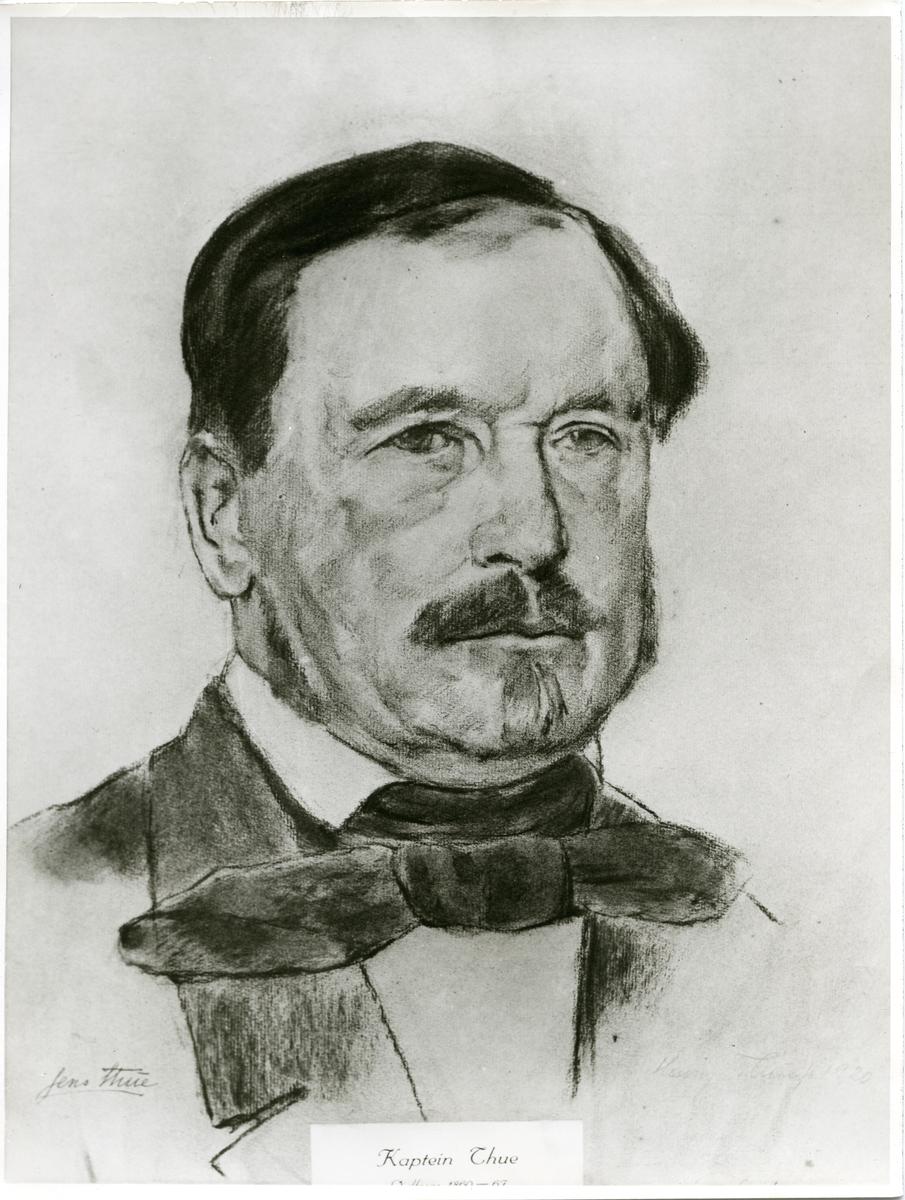 Kaptein Jens Thue.