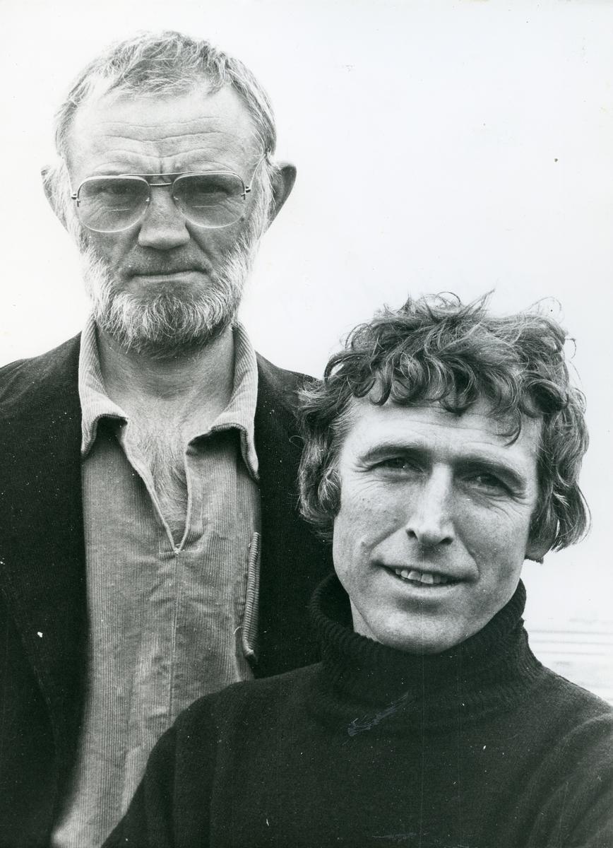 Odd Børretzen og Alf Cranner underheldt.