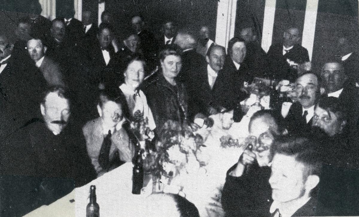 70-års festen for Hans Kleppen i Seljord i 1926.