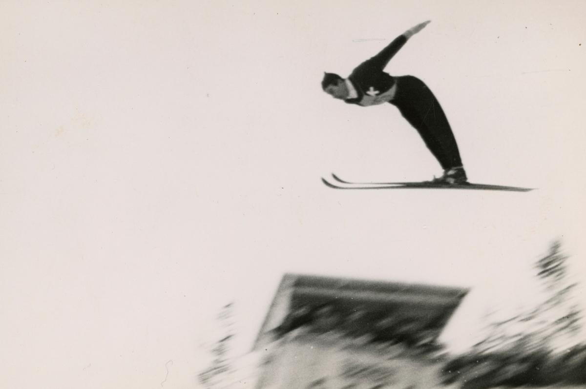 Kongsberg athlete Vidar Linboe Hansen in action