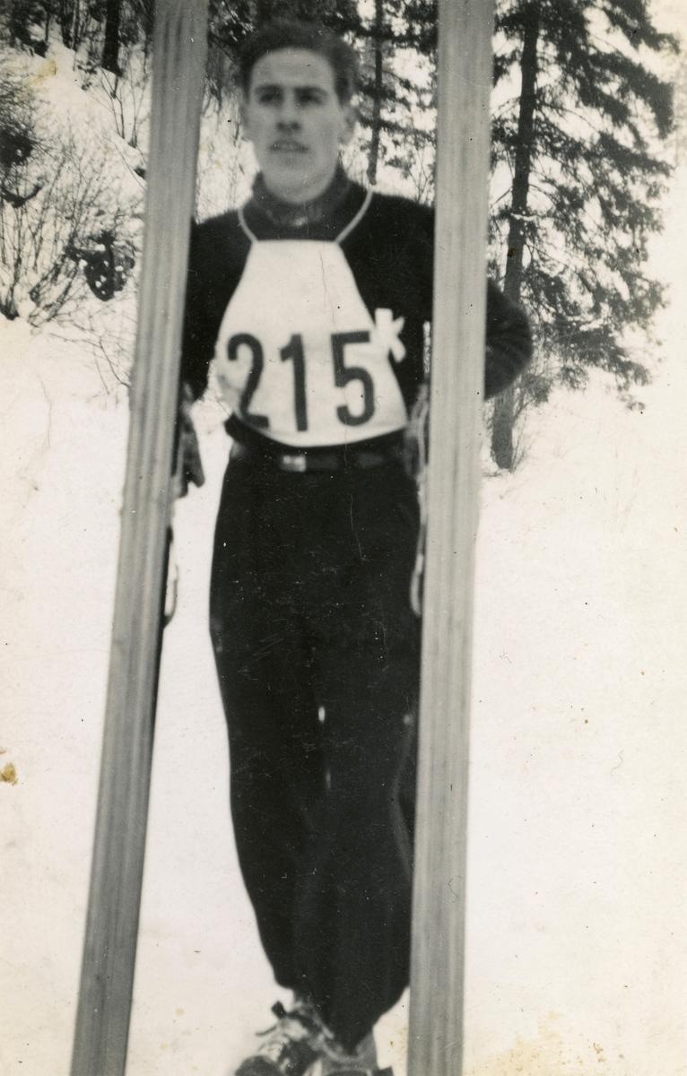 Kongsberg skier Vidar Lindbo Hansen