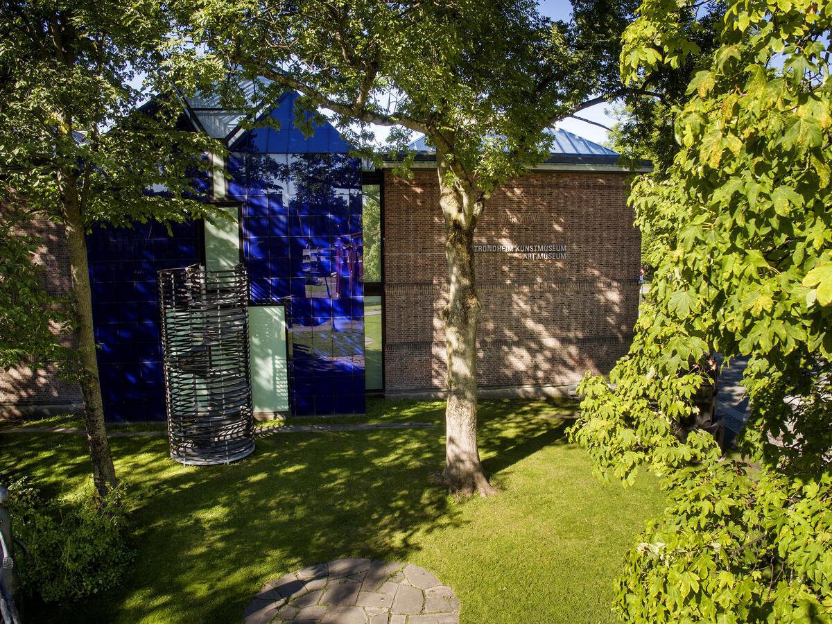 Tilbygget mot parken mellom kunstmuseet og Nidarosdomen.
