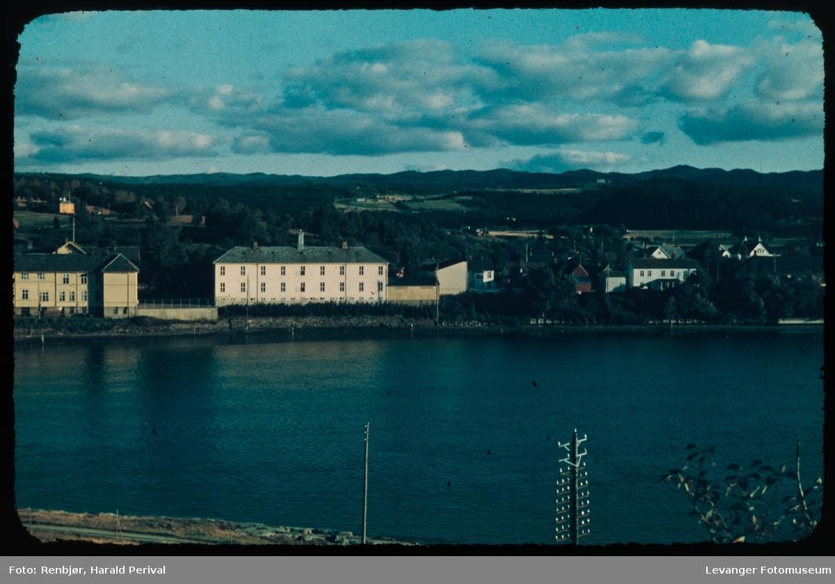 Byskolen i Levanger sett fra Nesset.