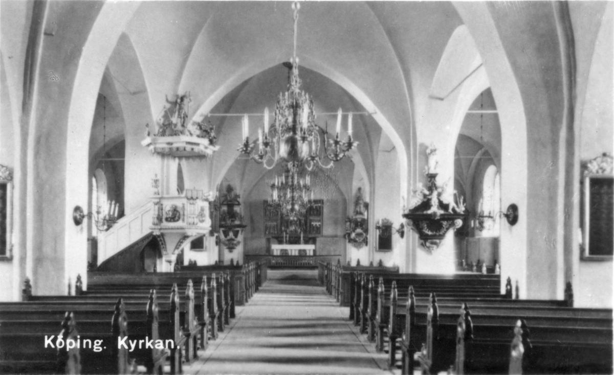 Köpings Kyrka Interiör.