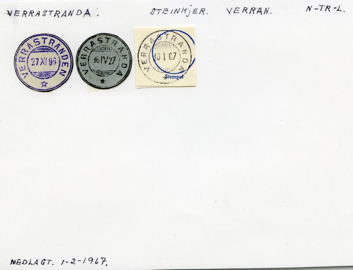 Verrastranda (Verrastranden), Steinkjer, Verran, Nord-Trøndelag