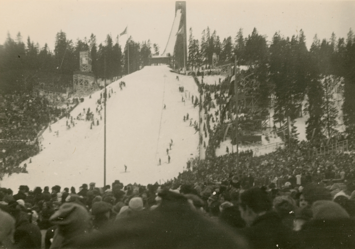 Ski jumping at Holmenkollen