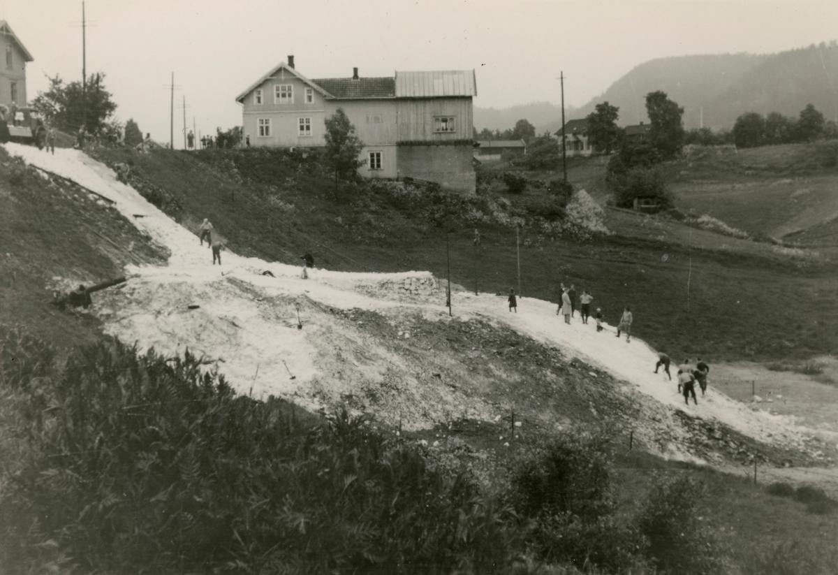 Ski jumping at Skauløkka