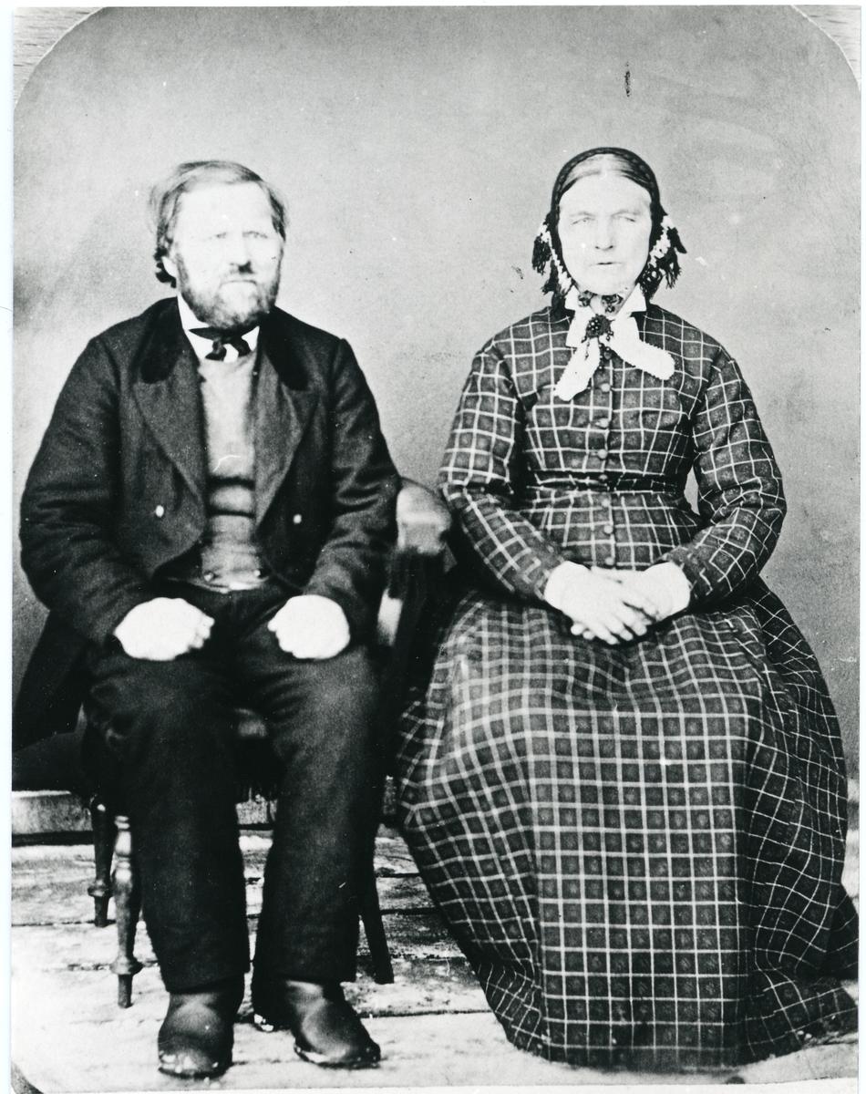 Aslak og Dorthea Tronrud.