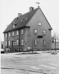 Staketgatan / Byggmästargatan. Vy från norr.