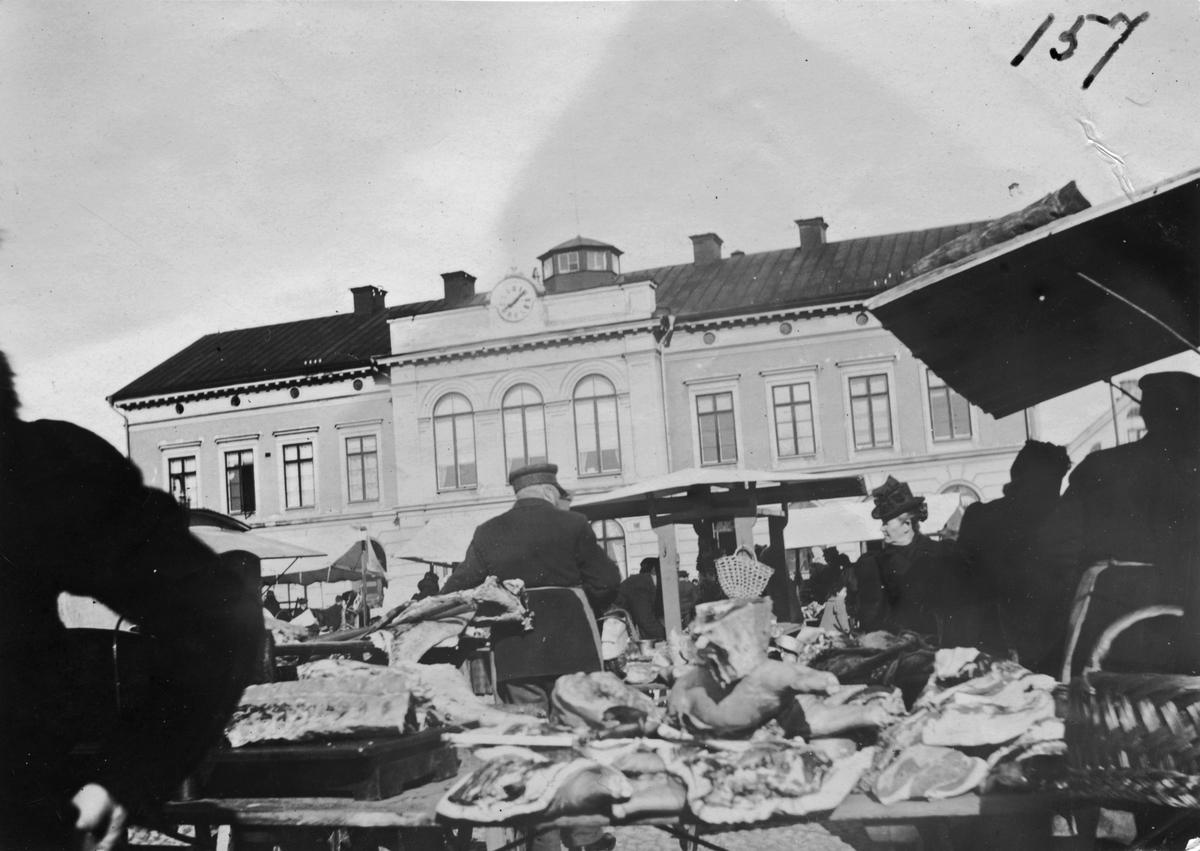 Torgbild kring sekelskifte 1800-1900