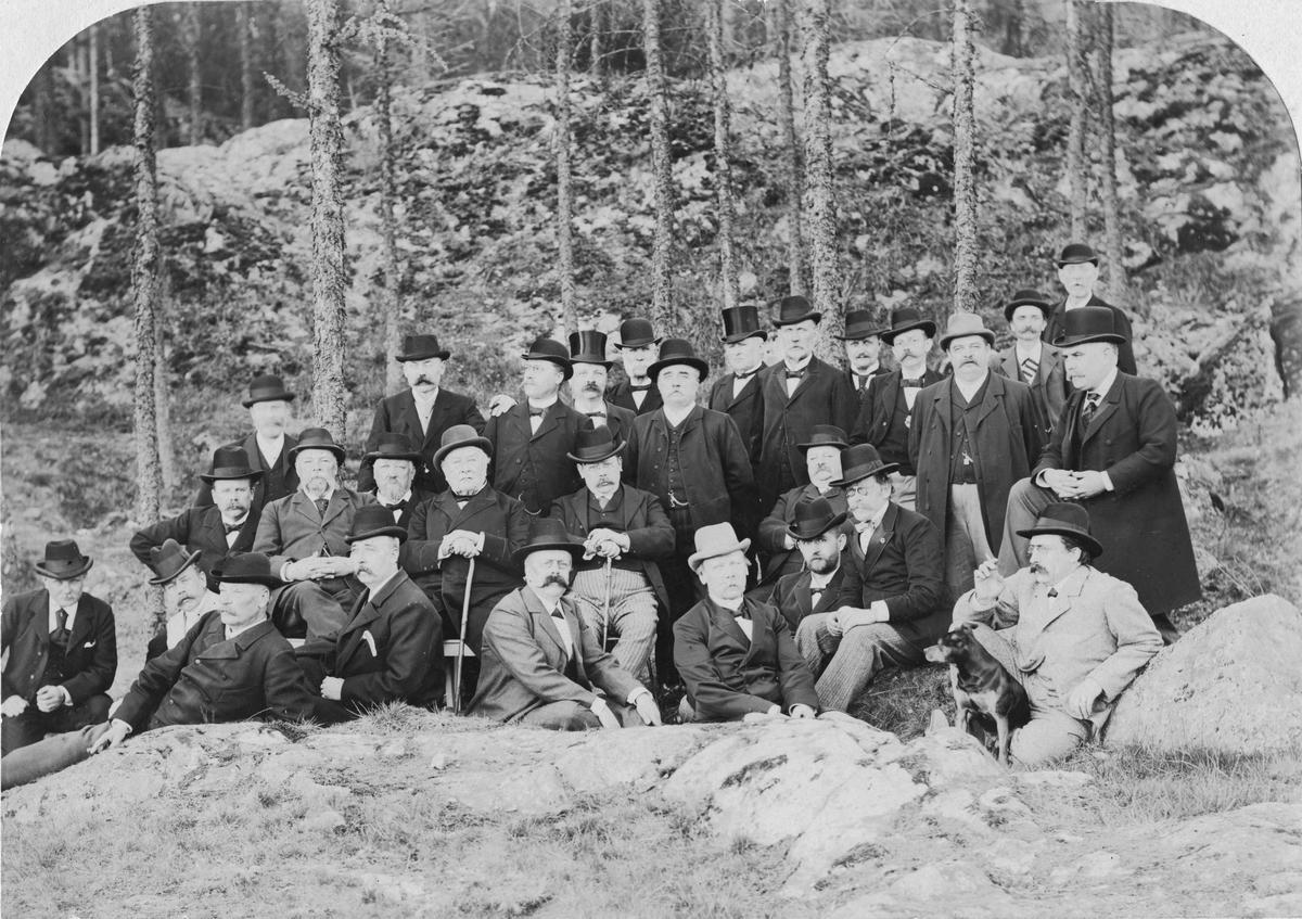 "Herrar på grönbete"".Sekelskifte 18-1900."
