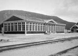 Jernbanerestauranten på Bjorli før åpning