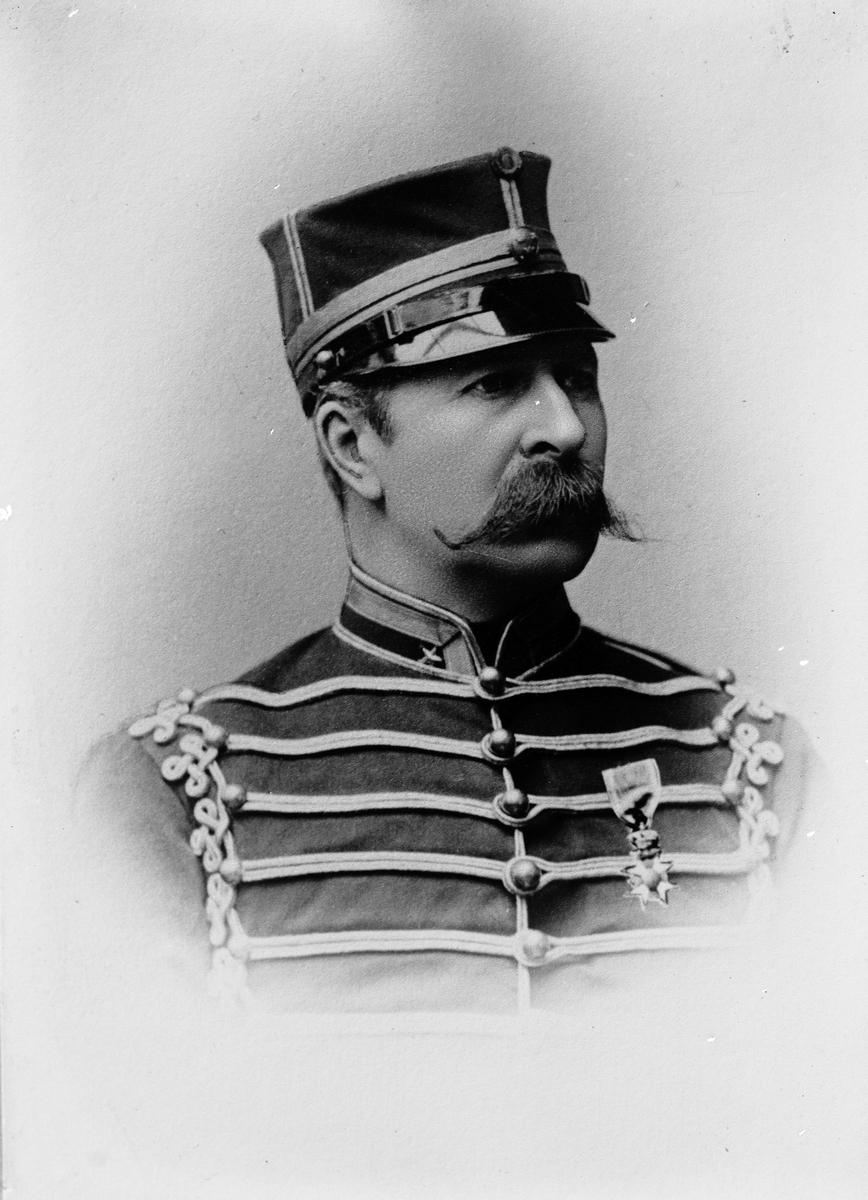 En förstoring av brandchefens broder, bestllda av Major von Malmborg. Oktober 1917.