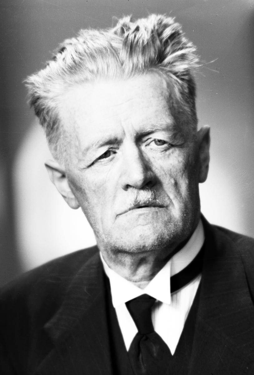 Chefredaktör N. S. Norling. Bostad Lerviks Herrgård.