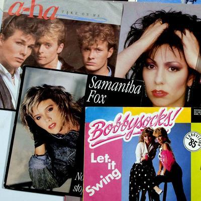 Musikken på 80-tallet. Foto/Photo