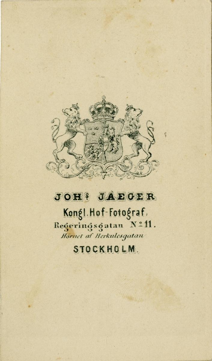 Porträtt av Henrik Gustaf Westman, officer i Flottan.