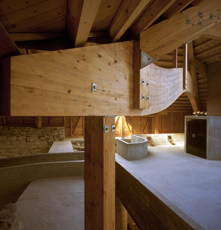 Limtre og betong kjennetegner Sverre Fehns arbeid. (Foto/Photo)