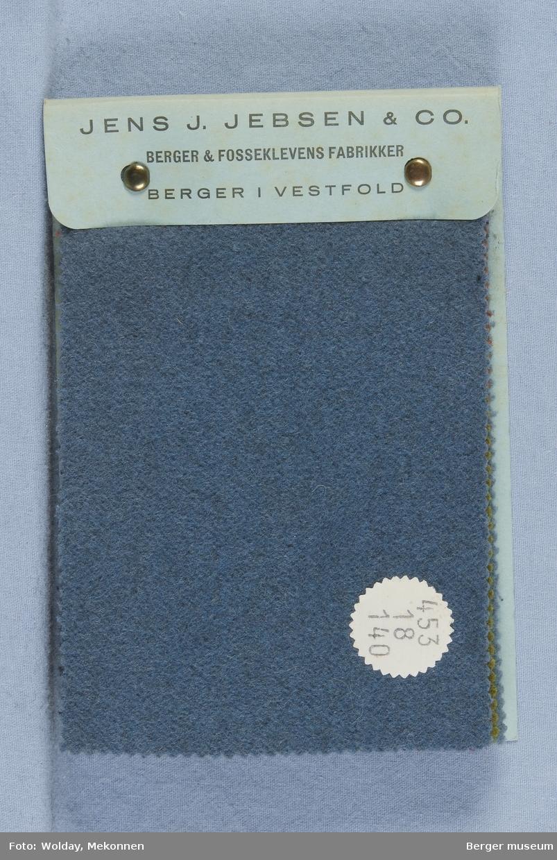 Prøvebok med 12 prøver Drakt/kåpe Kvalitet  453 Stykkfarget