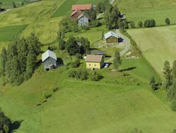 Rudsbygd, Lillehammer kommune, ved Flåkålivegen, Gaustum ell
