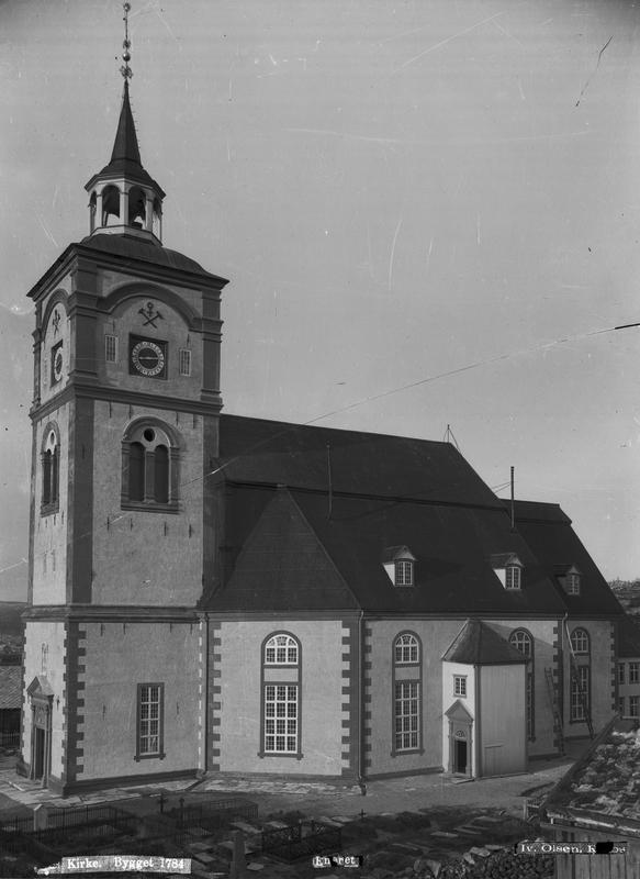 Røroskirka 1906