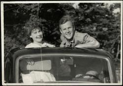 Georg Richter og Bertha Smedsgaard.