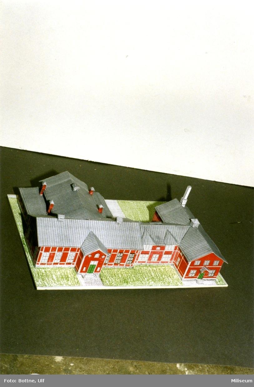 Byggark, A 6 g:a matsal. Separatutställn. på Försvarsmuséet.