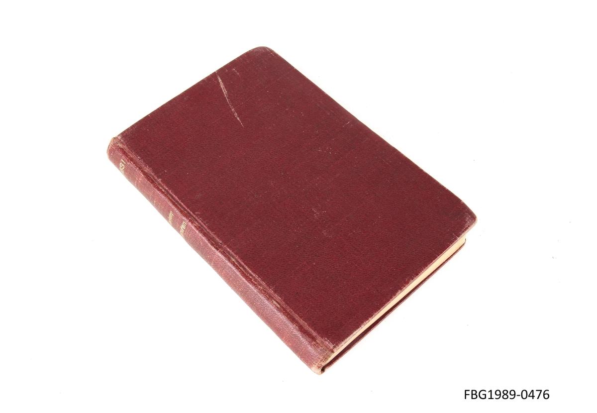 Innbundet bok