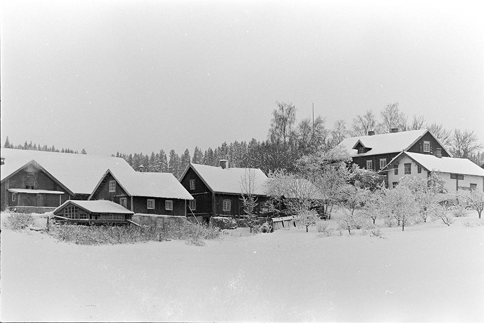 Alu, Alhaug østre, eksteriør,vinter