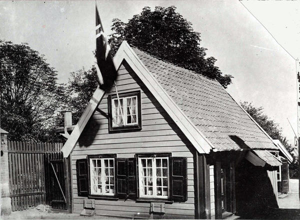 Gammelt trehus fra Hammersborg. Foto/Photo