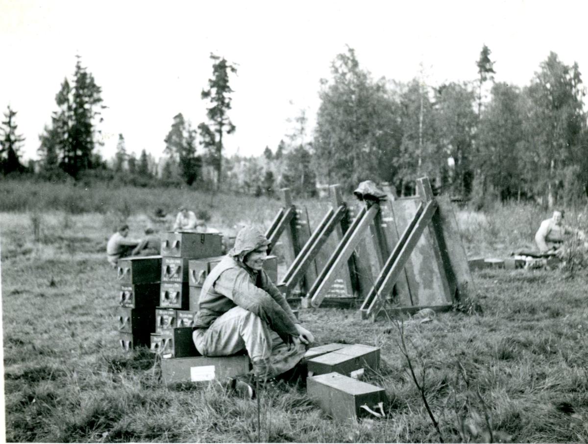 Ammunition. Villingsberg, Närke.