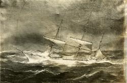 Bark 'Baron Holberg' (ex svensk 'Blemda')(b.1877, J. Røst, S