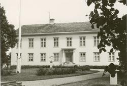 Huvudbyggnaden på Kläckeberga gård.
