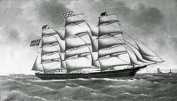 Fullrigger 'Bejamin Bangs' (ex USA s.n.)(b. 1860, J. Taylor,