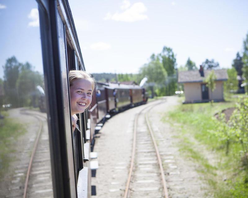Historical railway tour with Tertitten
