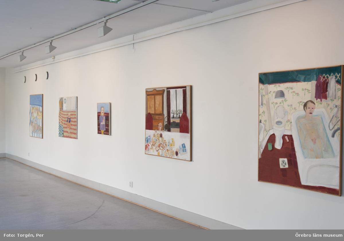 Bild från Lena Cronqvists utställning på Länsmuseet i Örebro 12 september - 25 oktober 2015.