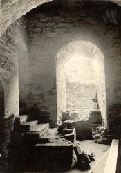 Uppgång till kvinnofängelset, rum 28-30 på Kalmar slott.