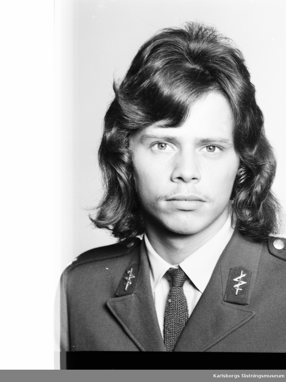 Signaltrupperna, S2 i Karlsborg 1973. Christer Magnusson 5 kompani.