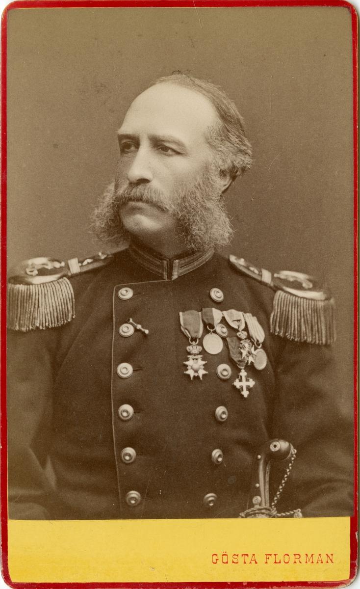 Porträtt av Johan Fredrik Lilliehöök af Fårdala, överste vid Närkes regemente I 21.