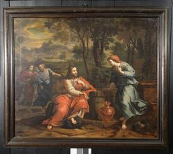 Jesus og den samaritanske kvinne [Maleri]