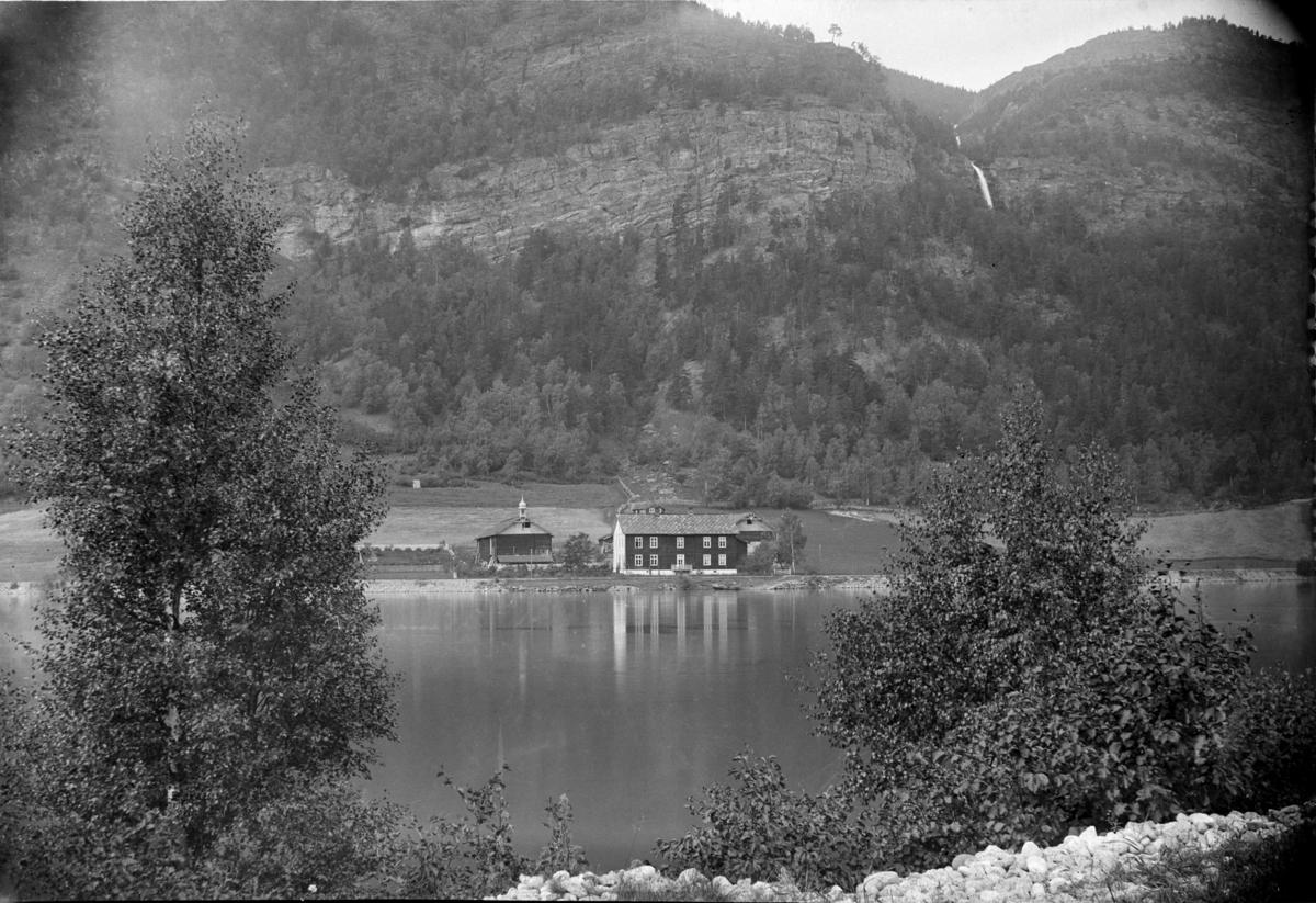 Sel kommune, Garden gamle Sandbu på Sjoa ca 1920 - 1930