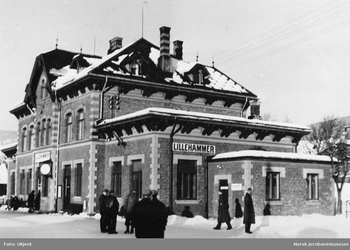 Lillehammer stasjonsbygning i krigsårene