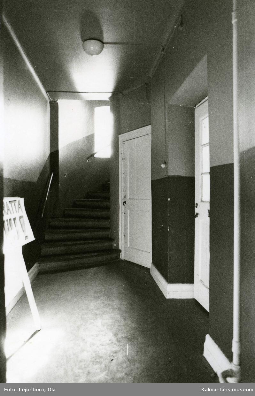 Interiör från Häggen 1 i Kalmar. Kalmar läns museum
