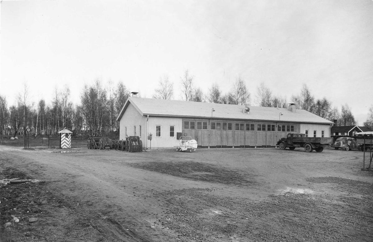 Servicestation vid Livregementets grenadjärer I 3, färdigställd 1950.