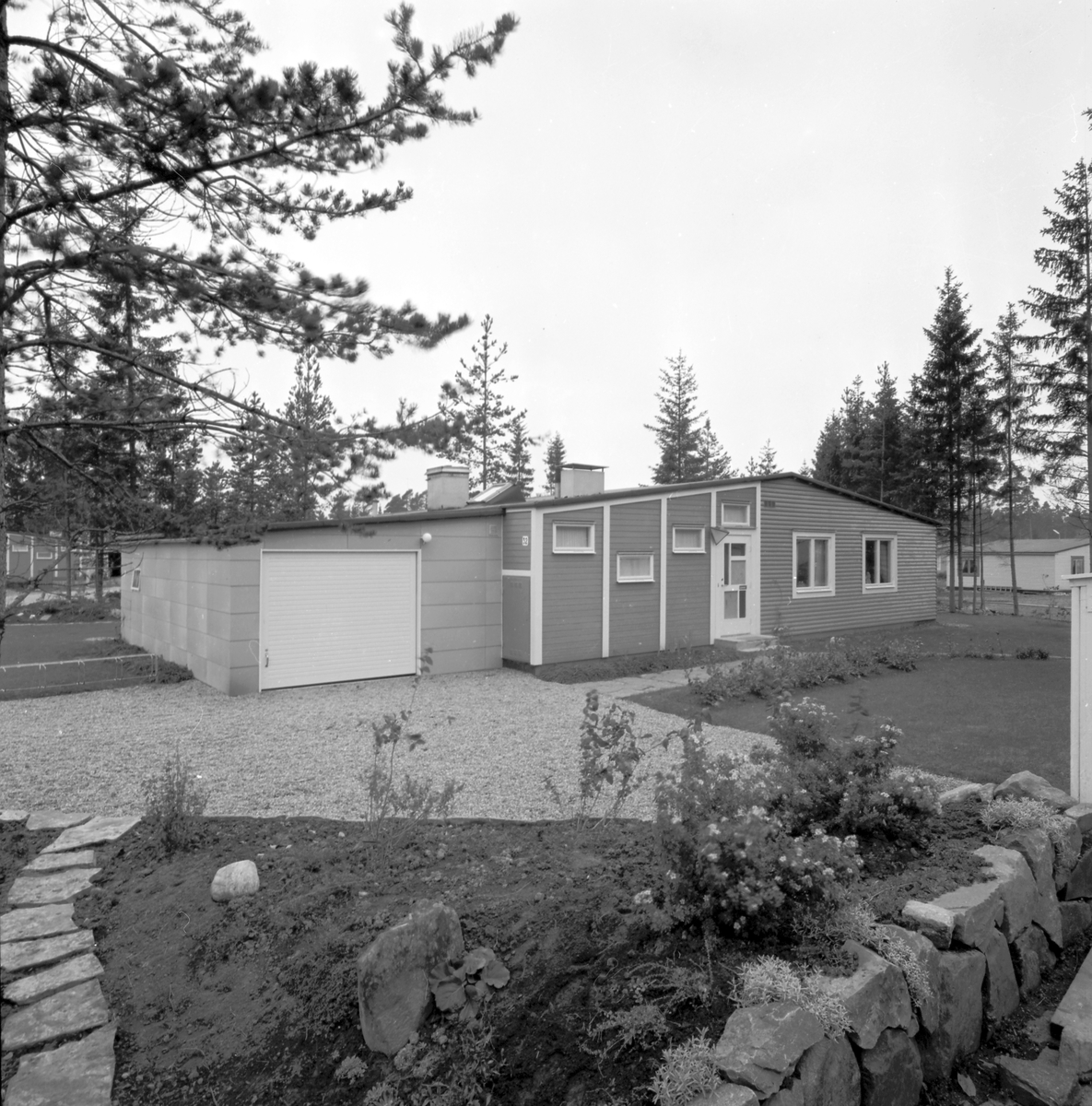 Den 14 oktober 1952. Sörbyområdet.