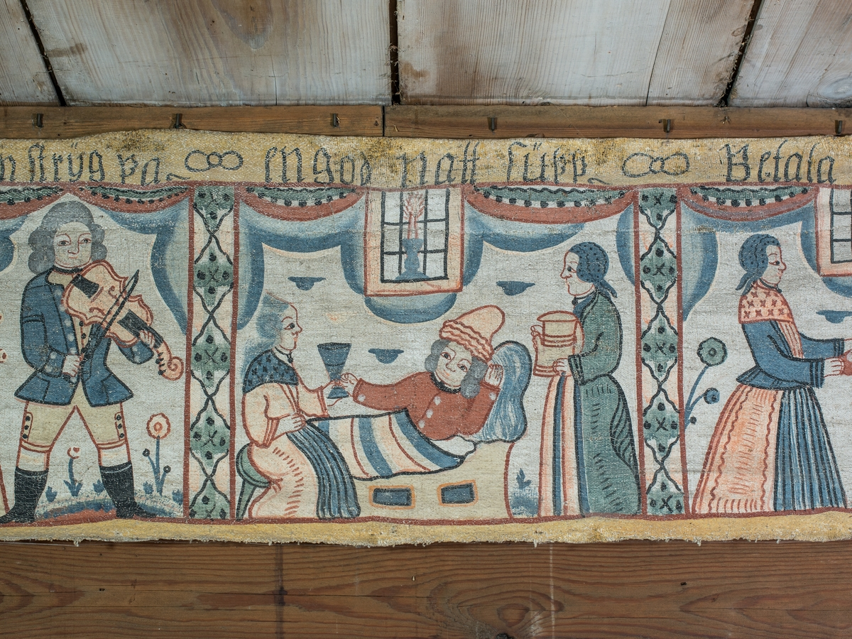 Föreställer den bibliska berättelsen om den förlorade sonen, Lukas 15.