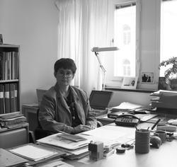Eva Dahlman, intendent för fotosekreteriatet under tiden 199