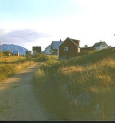 Bebyggelse på Meløyvær.